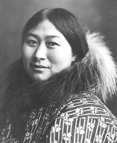 Inuit Indian woman 1907