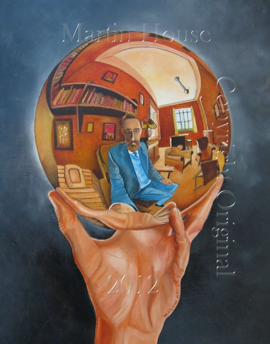 Crystal Ball, original painting by Martin House
