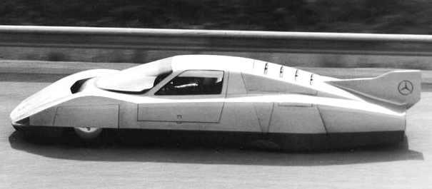 Mercedes record car