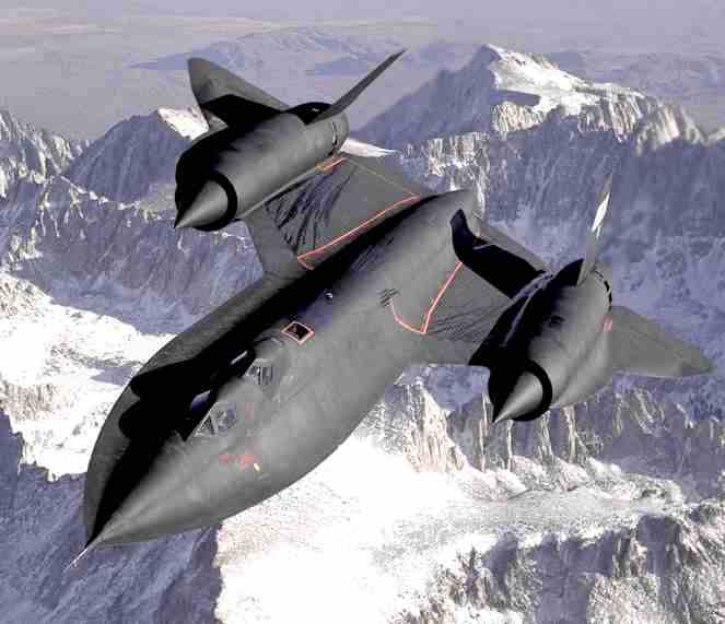 The USAF's stealth bomber SR-71 Blackbird was developed from the CIA's A-12 OXCART