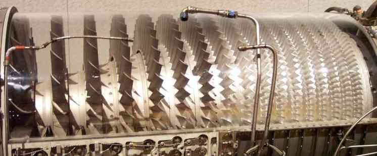Jet Engine Gas Turbine