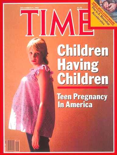 Time Magazine teenage pregnancy