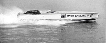 Miss England driven by Kaye Don