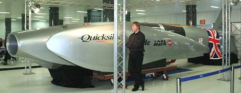 Quicksilver publicity launch, Nigel McKnight