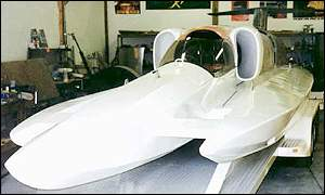 Spirit of Australia world water speed record boat