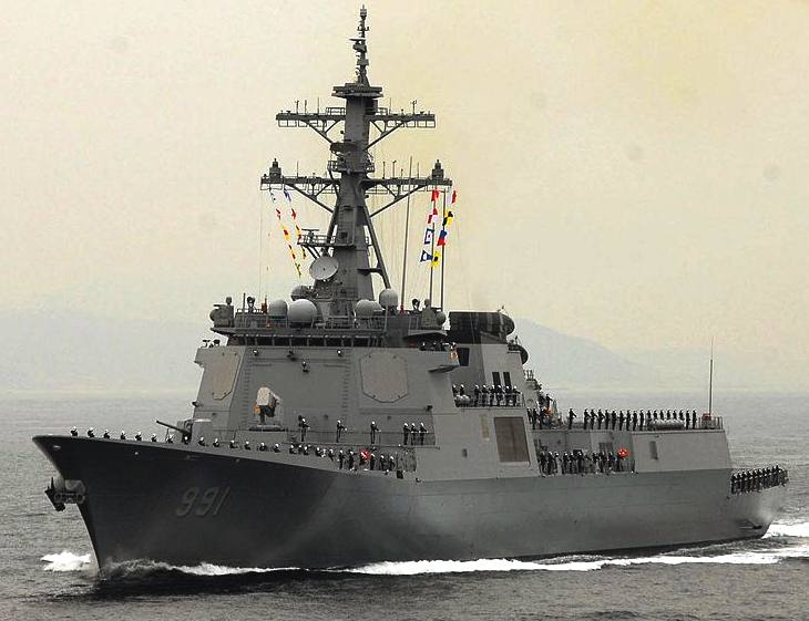 ROK Navy guided missile destroyer: Sejong the Great
