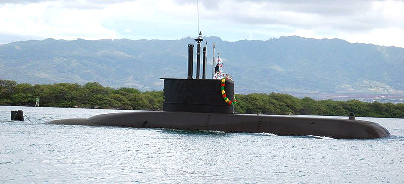 ROK Navy submarine at Pearl Harbour: Lee Sunsin SS-068
