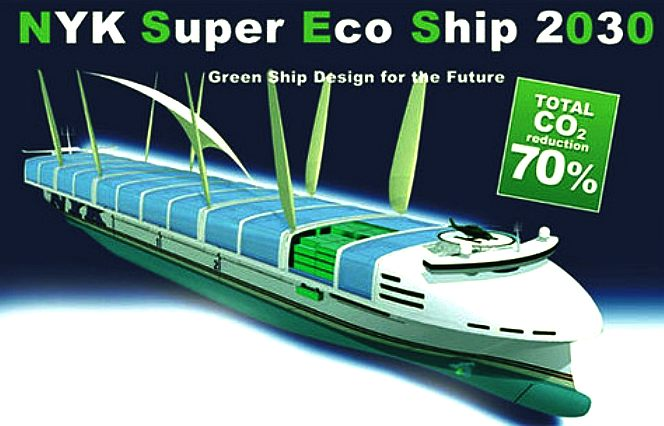 Super green eco ship concept from NYK