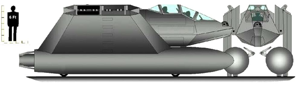 CHARC, Lockheed Martin's SWATH fighter attack boat concept