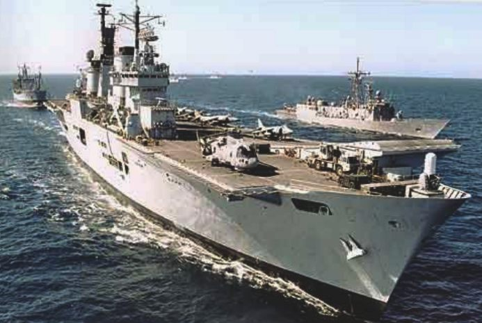 The Ark Royal, British Navy aircradt carrier