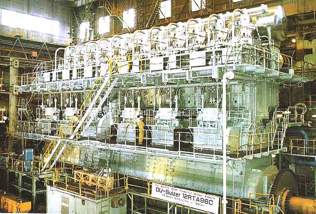 Ship Diesel Engine Room Internal Combustion Du Suizer Rt Super A Oil Tankers on Internal Combustion Engine Parts