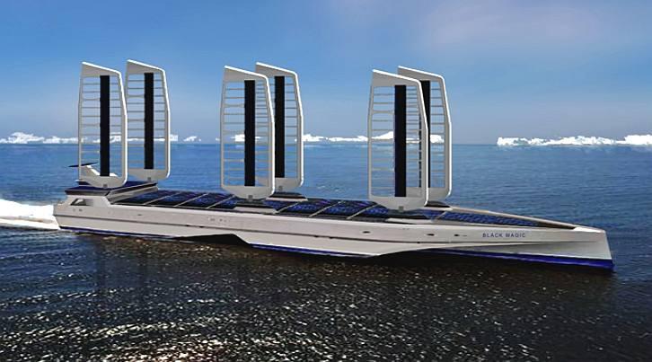 Solar Eco Ships