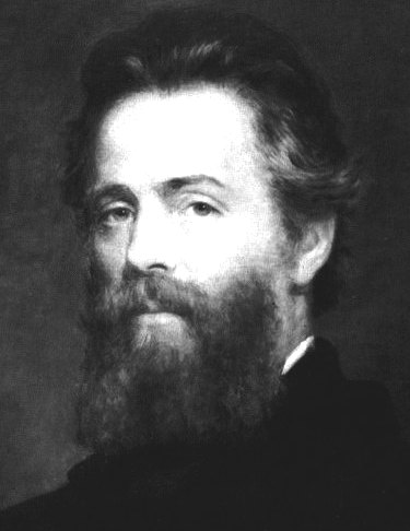 Herman Melville's photograph portrait