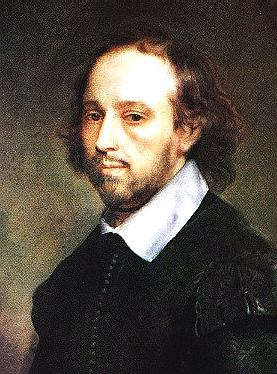William shakespeare oil portrait, young