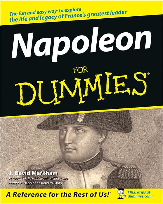 Napoleon for Dummies, historical reference book in the series