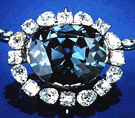 Treasure - the Hope diamond, pricelees jewels