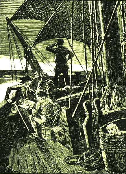 Treasure Island Apple Barrel