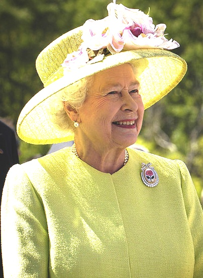 Queen Elizabeth in 2007