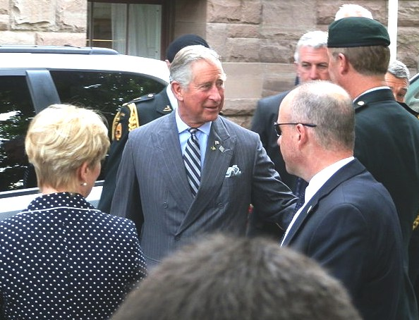 Prince Charles tour of Canada for the Diamond Jubilee