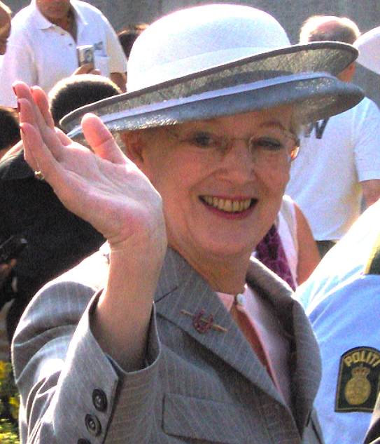 Queen Magrethe II, Danish Royal Family