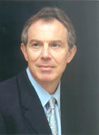 TOny Blair United Kingdom prime minister to May 2007