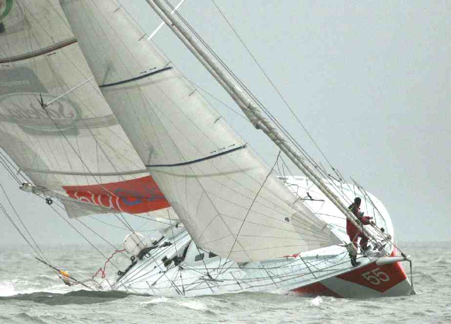 Whitbread world sailboat race