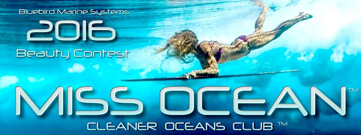 Miss Ocean 2016 beauty contest from the Cleaner Oceans Club