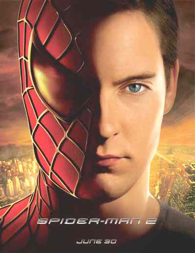 Party - Super Hero Theme Forum Party! Spiderman_2_film_poster_peter_parker_tobey_maguire