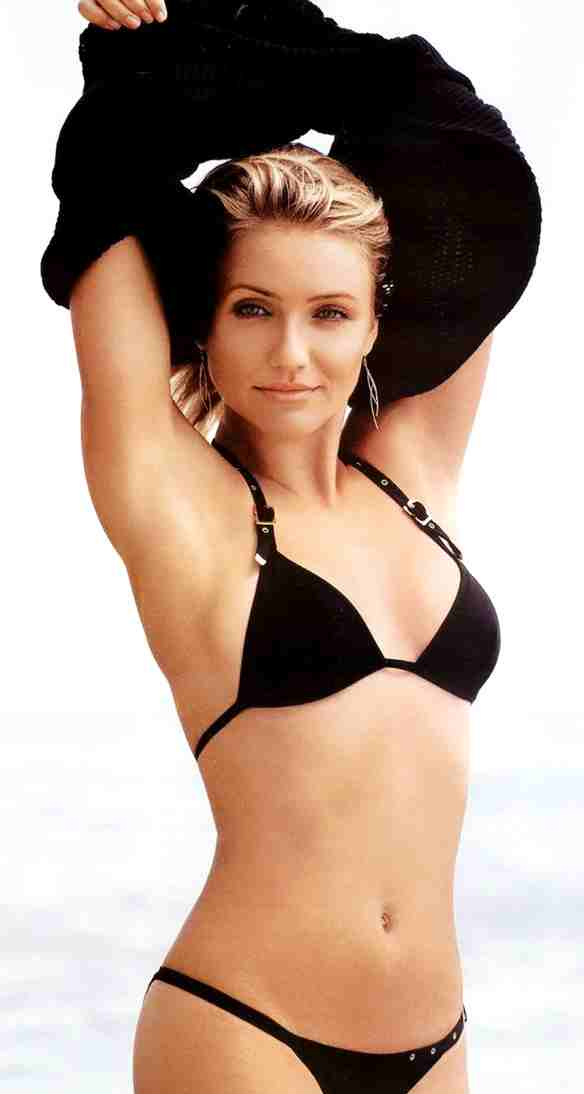 Cameron Diaz bathing suit