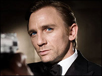 Daniel Craig as James Bond 007 Casion Royale