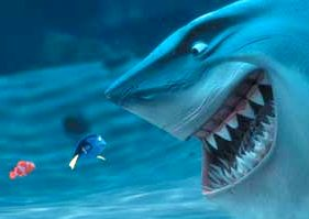 http://www.solarnavigator.net/films_movies_actors/cartoons/cartoon_images/finding_nemo_bruce_shark_dory_and_marlin_tasty_bites.jpg