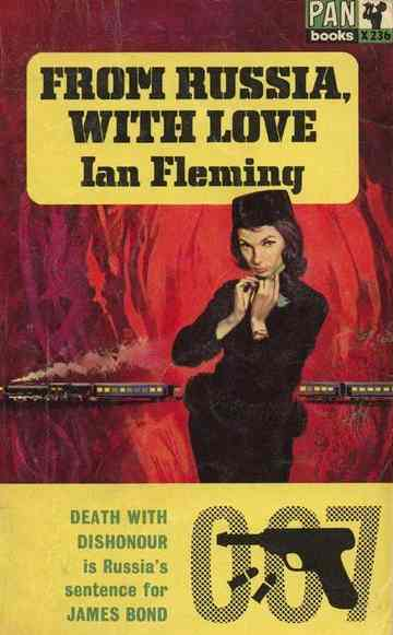 James Bond From Russia with Love Pan Books