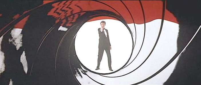 James Bond gun barrel opening gun barrel sequence