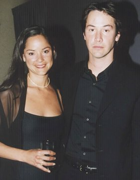 Photo of Keanu Reeves & his  Sister  Kim Reeves