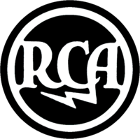 Original RCA logo, revived by BMG for sound recordings after it bought GE's interest in the record company
