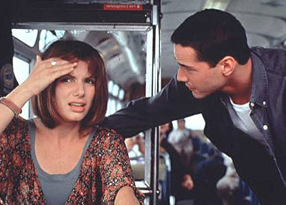 SPEED MOVIE STARRING KEANU REEVES AND SANDRA BULLOCK