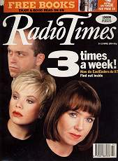 Eastenders Radio Times cover Sharongate story