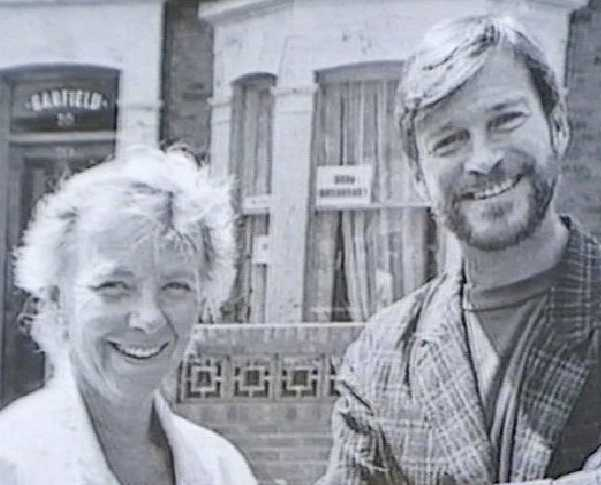 Eastenders creators Tony Holland and Julia Smith