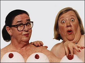 Two Old Fat Naked Lady 46