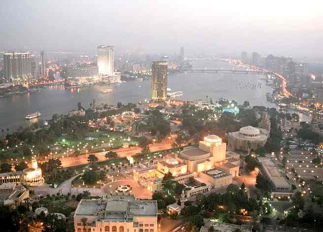 """صور من مصر و محافظاتها """" تعالي اتعرف علي مصر """" Egypt_Cairo_evening_view_from_the_Tower_of_Cairo_October_2004"""