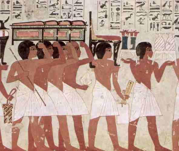 """صور من مصر و محافظاتها """" تعالي اتعرف علي مصر """" Egypt_Maler_der_Grabkammer_des_Ramose_tomb_painting"""