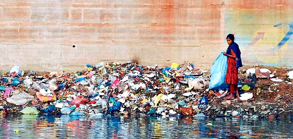 The River Ganges is seriously polluted