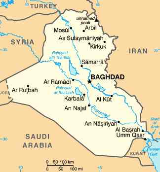 Where Is Tigris River Located On a Map