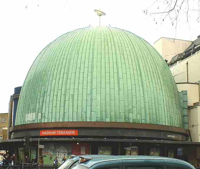 Madame Tussauds planetarium London - my trip to London