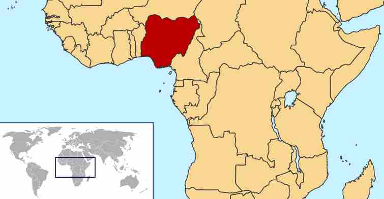 Maps World Map Nigeria
