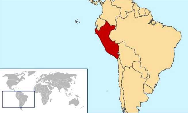 Maps World Map Peru