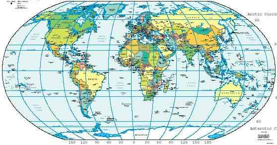 Additionally, the equator is the only line of latitude which is also