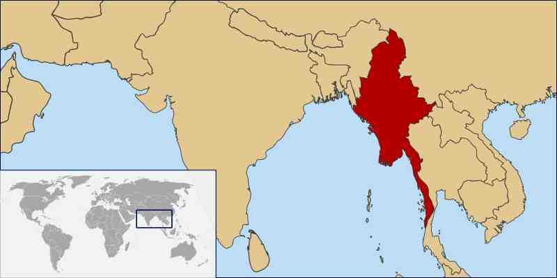 Burma burma world location map gumiabroncs Gallery