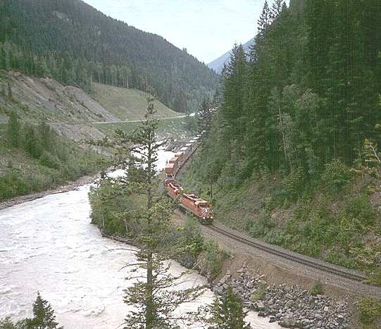 The Canadian National Railway American Railroads