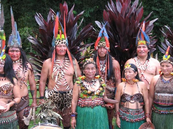 Amazon Kichwa tribe under threat from Petroamazonas and the Ecuadorian military